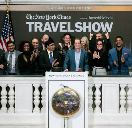 The New York Times Travel Show (Presented by Incredible India)