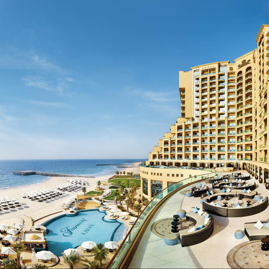 Luxury staycations mark revival for Fairmont Ajman