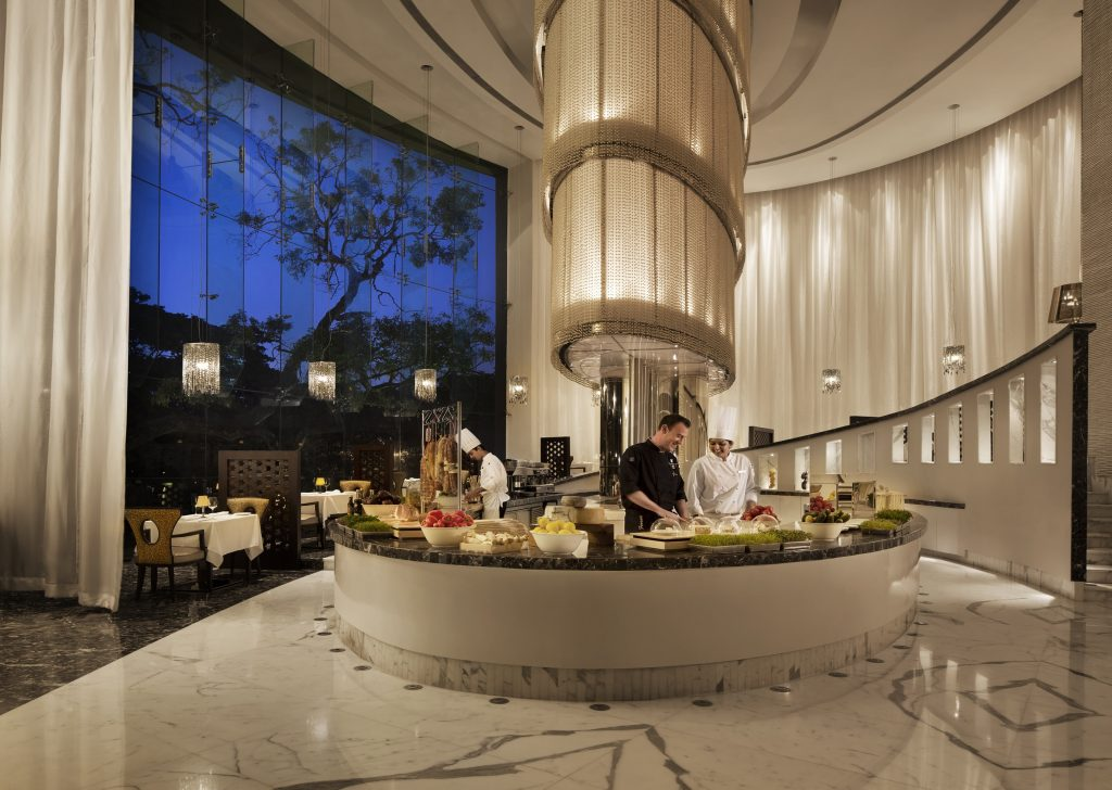 Every Hotel Has Identified 145+ Touchpoints To Meet The New Health And Safety Challenges. Alba, Italian Restaurant At Jw Marriott Bengaluru