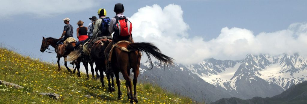 Exploring The Stunning Mountain Ranges On Horseback Is Much Recommended.
