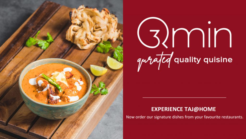 Ihcl S New Food Delivery App, Qmin, Will Offer Iconic Dishes From Its Restaurants.