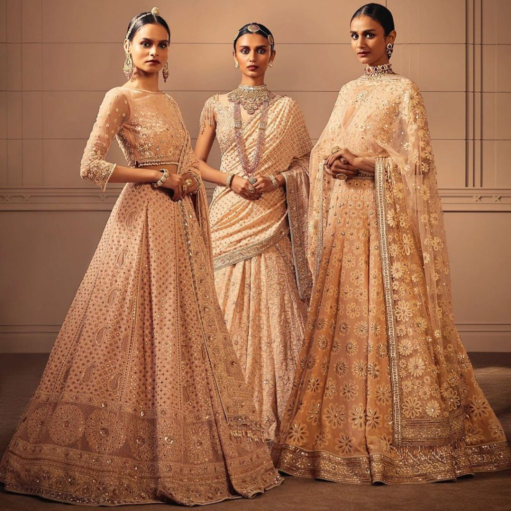 Indian Designers Such As Tarun Tahiliani Have The Talent To Cater To The Couture Needs Of Embellishment Loving Arabs