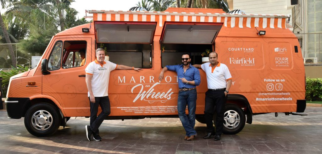 Marriott On Wheels Has Opened Up A New F&b Revenue Stream For Marriott