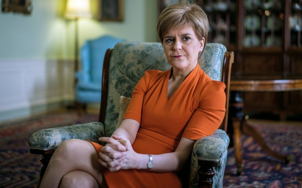 "Nicola Sturgeon Of The Scottish National Party And First Minister Of Scotland Called It The ""biggest Step So Far"" In Exiting Lockdown."