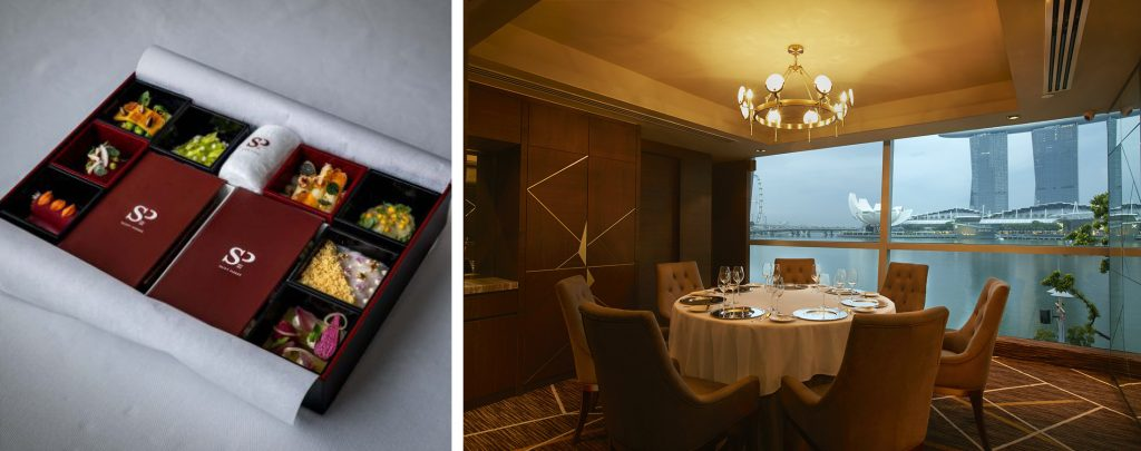 Saint Pierre At One Fullerton Offers 8 Course Omakase Bento Meals As A Home Dining Experience.