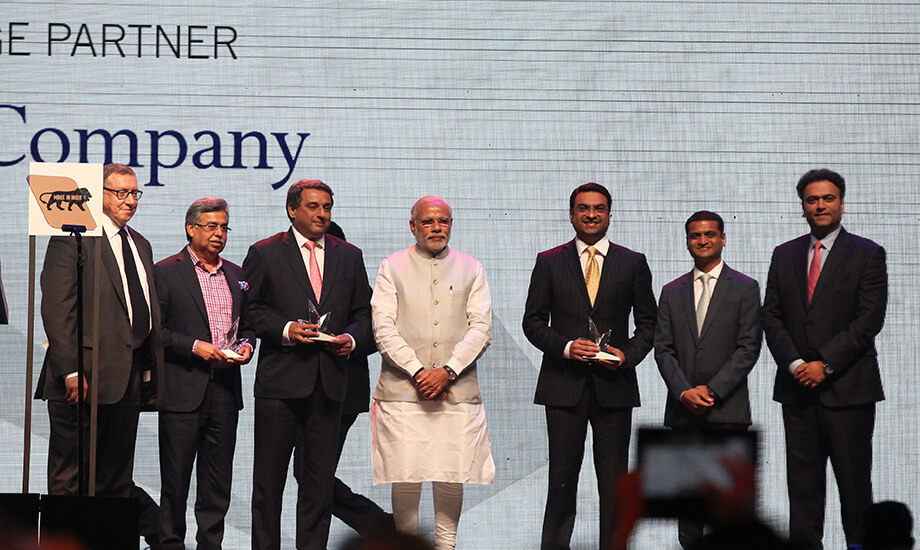 The Prime Minister Of India, Narendra Modi, Was The Guest Of Honor At The Time India Awards Ceremony (1)