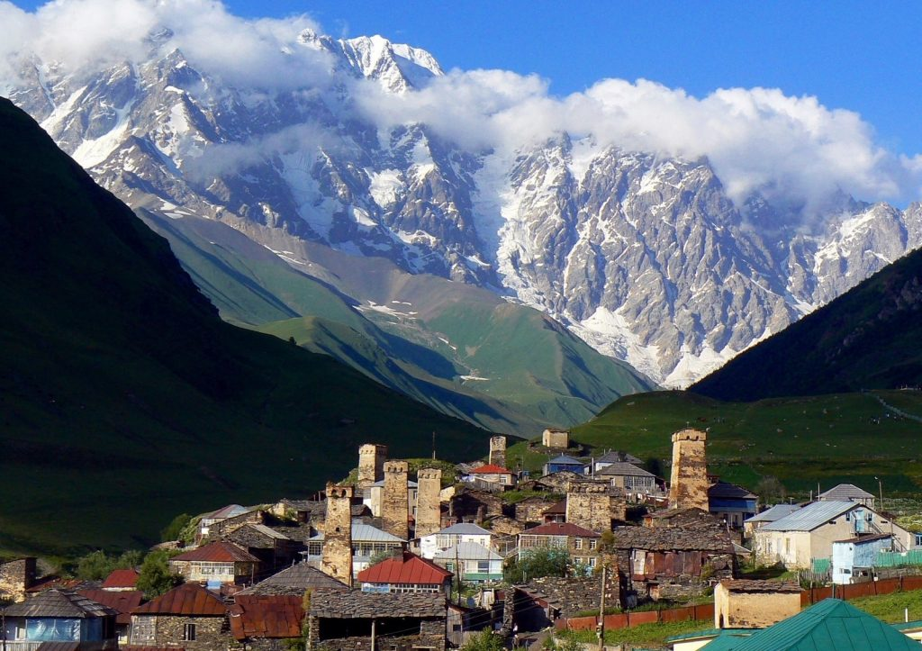 The Country Lies Cradled In The Caucasus Mountain Range, At The Intersection Of Europe And Asia.