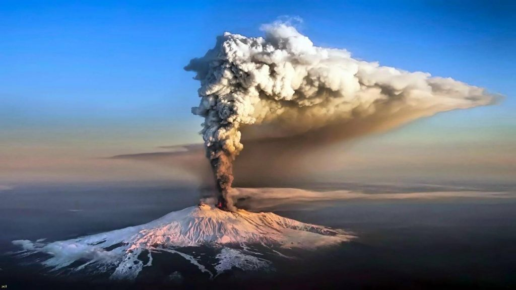 In Mount Etna, The Vineyards Lie Scattered At The Foot Of The Volcano.