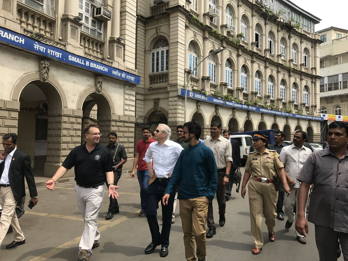 Khaki Tours Has Hosted A Walk For Kenneth Juster, The Us Ambassador To India.