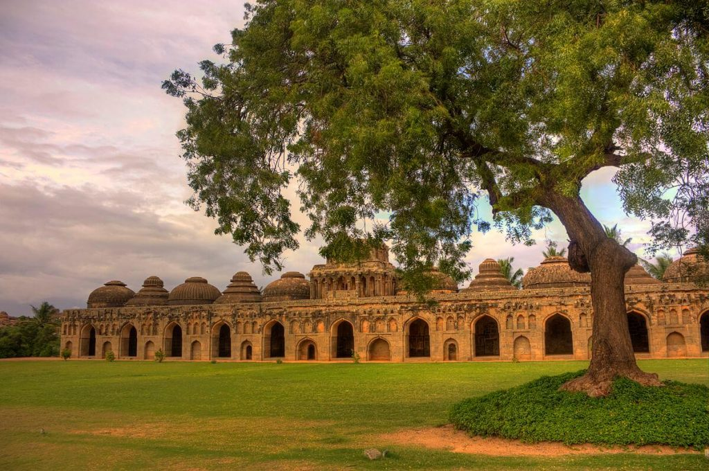 The Elephant Stables Were Elaborate Housing For Royal Elephants, An Indication Of The Care Lavished On Them By The Erstwhile Royal Kingdom.