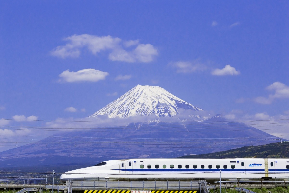 The Tokaido Shinkansen Bullet Train Blasted From Tokyo To Kyoto And Back At World Record Speed By The Time Of The 1964 Olympic Games.