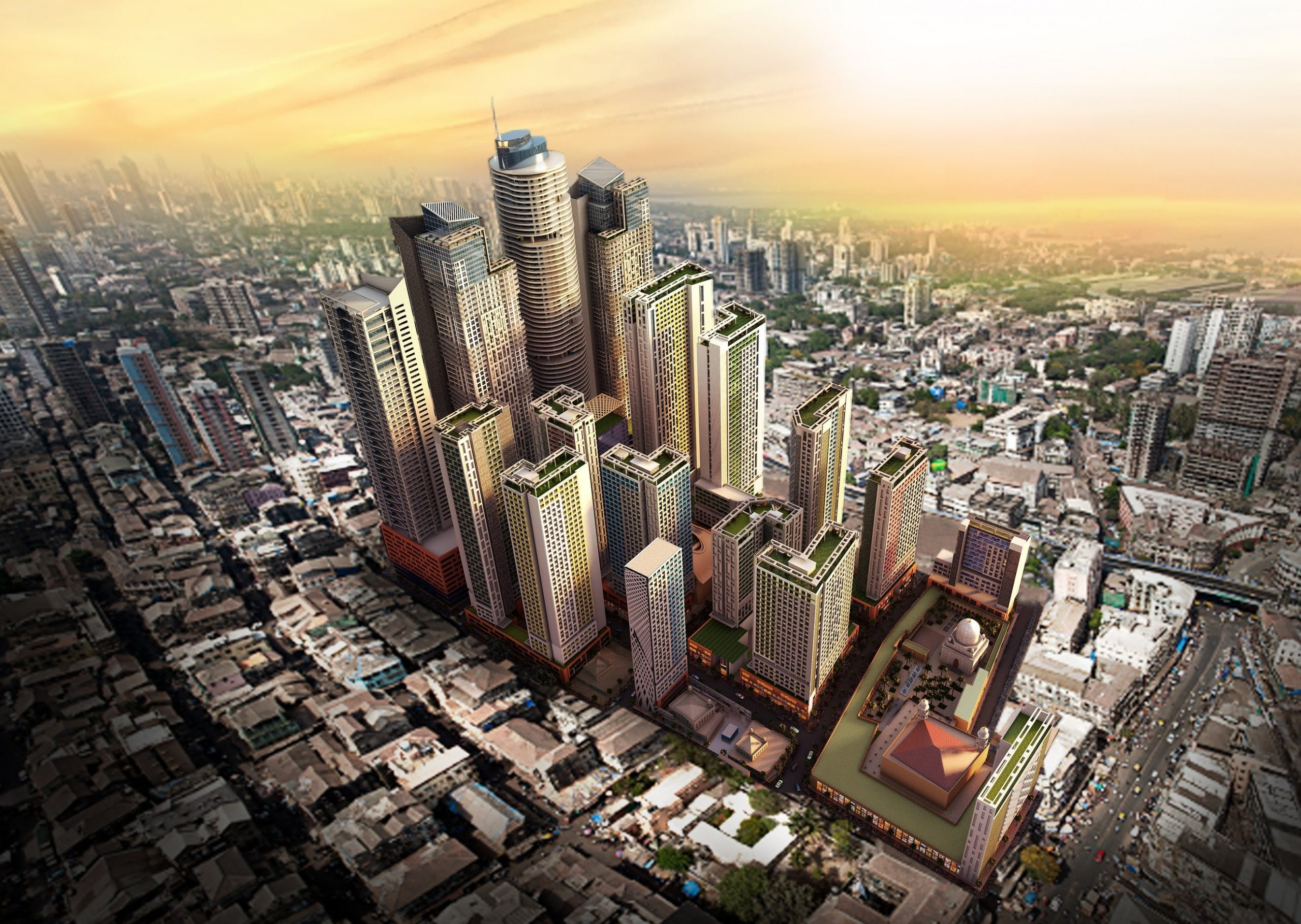 The Revitalization Of Bhendi Bazaar Is One Of The Biggest Private Projects In India.