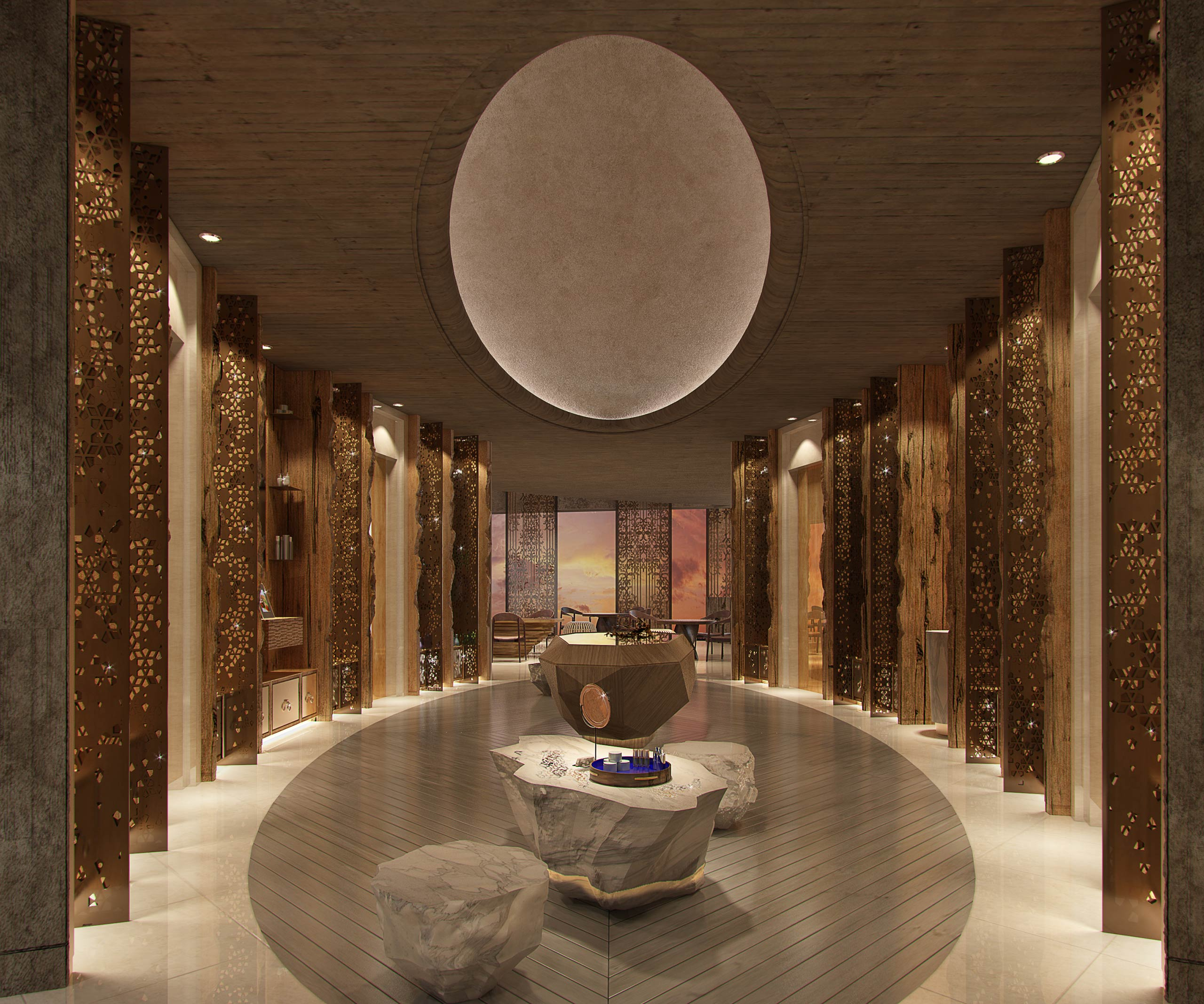 The Yet To Open Six Senses Spa In Mumbai, Will Be Located At World Towers By Lodha And Will Be A Sensual Play Of Materials, Textures And Aromas.