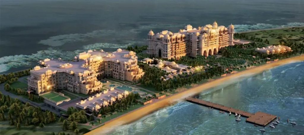 Taj Exotica Resort And Spa, The Palm Is On Track To Open In The Summer Of 2021.