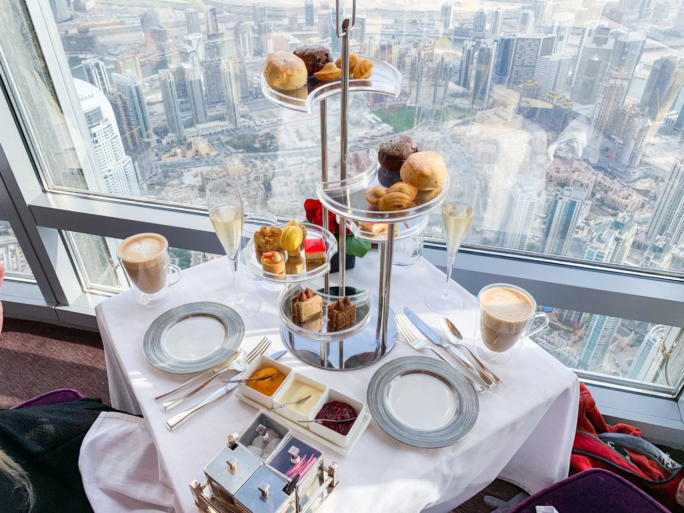 Breakfast With A View. At.mosphere, Burj Khalifa.
