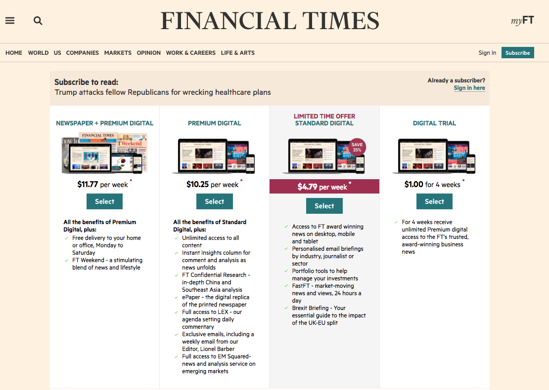 Ft Paywall