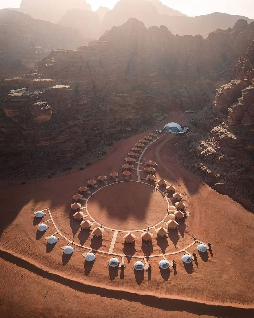 Wadi Rum Lies In The Far South Of Jordan, And East Of The Rift Valley.